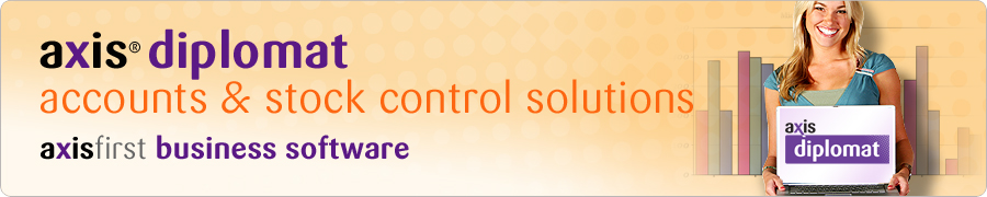 axis diplomat accounts and stock control solutions