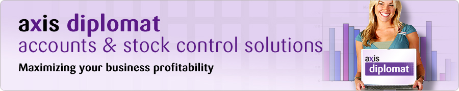axis diplomat accounts and stock control solutions - maximising your business profitability