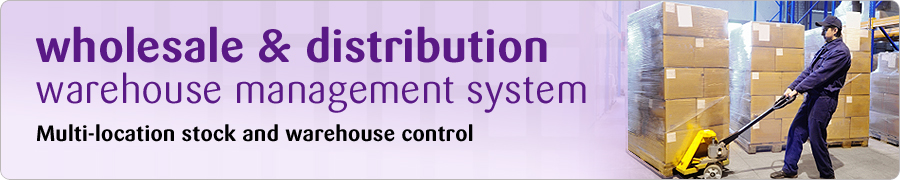 wholesale and distribution warehouse management system