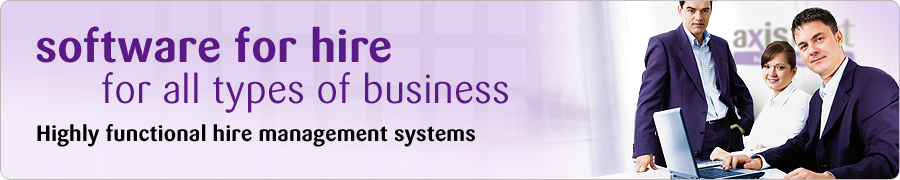 software for hire for all types of business