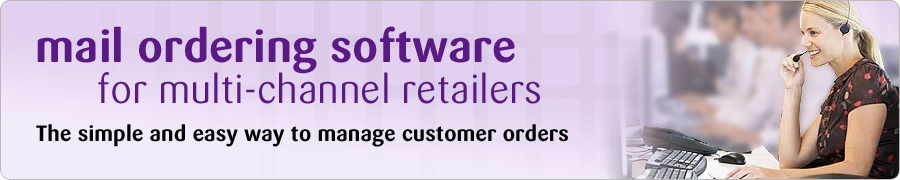 mail ordering software for multi-channel retailers