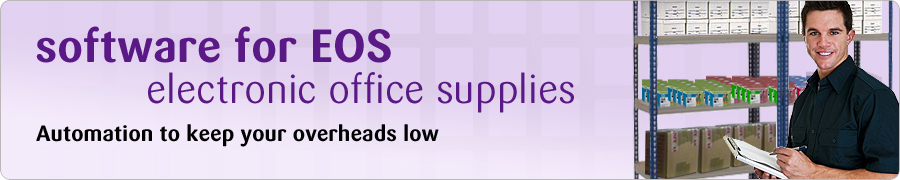 software for EOS electronic office supplies