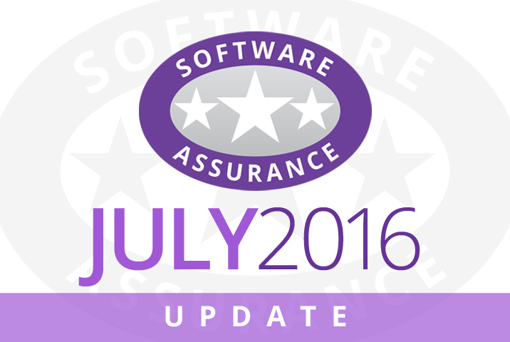 July 2016 Update for Software Assurance class=
