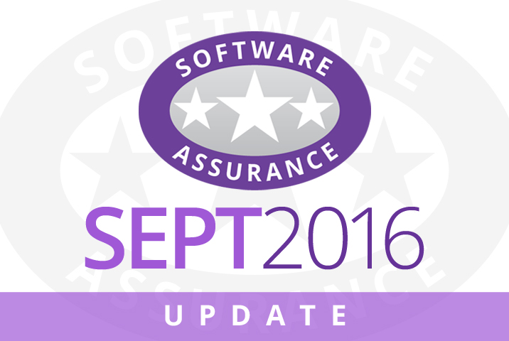 September 2016 Update for Software Assurance class=