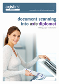 Technology Solutions for Scanning Documents into axis diplomat