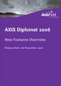 Overview of the principal enhancements over and above the previous release, axis diplomat 2004