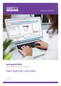 Overview of the principle enhancements over and above the previous release, axis payroll 2014