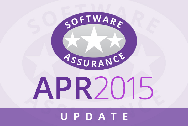 April 2015 Update for Software Assurance class=