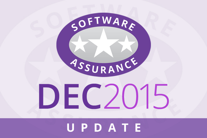 December 2015 Update for Software Assurance class=