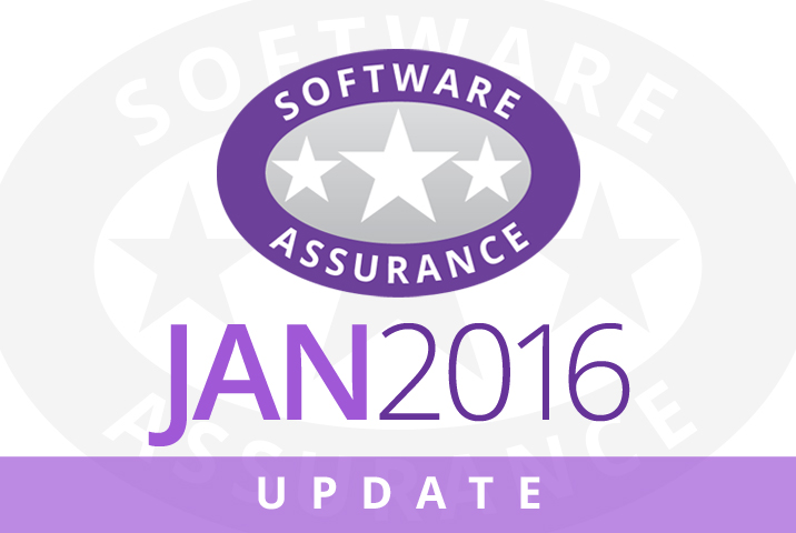 January 2016 Update for Software Assurance class=