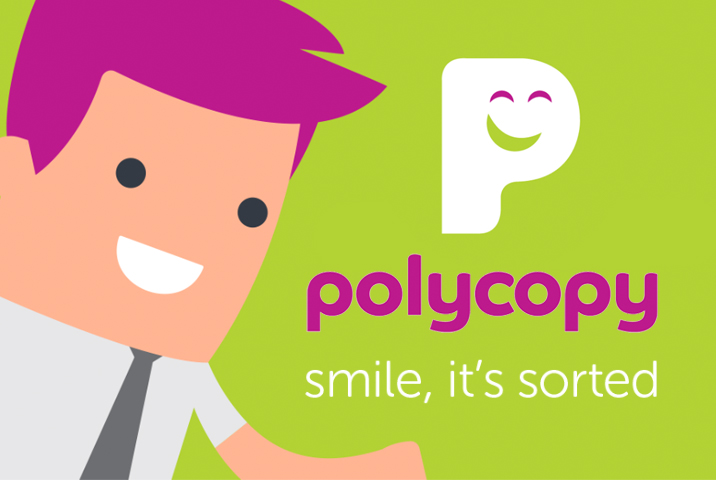 New website for Polycopy