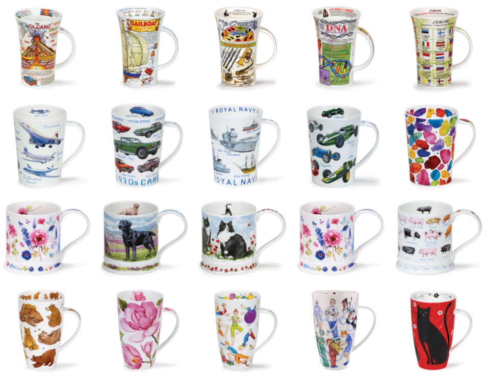 New Website for Dunoon Mugs