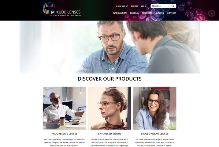 New Website for Jai Kudo Lenses class=