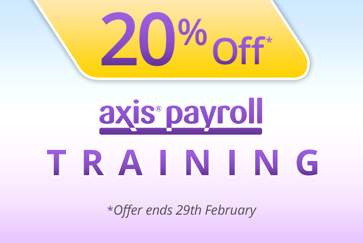 20% Saving on axis payroll Training this February