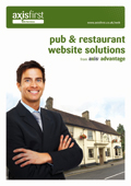 Custom-built websites specifically for pubs and restaurants