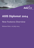 Overview of the principal enhancements over and above the previous release, axis diplomat 2000SE