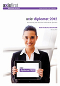 Overview of the principal enhancements over and above the previous release, axis diplomat 2010