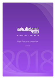 upgrade to axis diplomat 2018