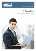 Sales, Consultancy, Deployment and Support for IT Systems and Infrastructure